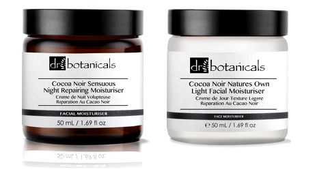 Set krémů Dr. Botanicals Coco Noir Sensuous Night Repairing a Coco Noir Natures Own Light - doprava zdarma!