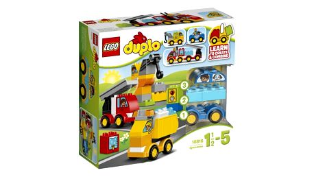 LEGO® DUPLO® 10816 Toddler Moje první autíčka a náklaďáky