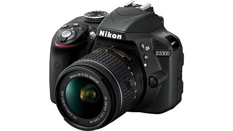Nikon D3300 + 18-55 AF-P DX - VBA390K010