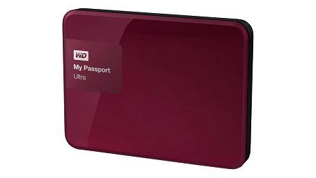 WD My Passport ULTRA - 2TB, berry - WDBBKD0020BBY-EESN