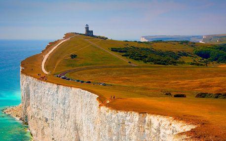 Londýn, bílé útesy Seven Sisters a Brighton