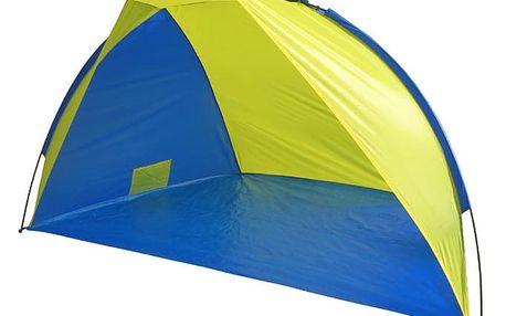 Plážový stan Brother 220x115x120 cm - modro/žlutý