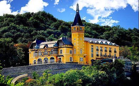 Fantastický pobyt pro dva v 4 * zámeckém hotelu nad Labským údolím