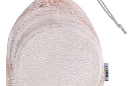 T-TOMI Bambusové vložky do podprsenky, 6 ks + prací sáček