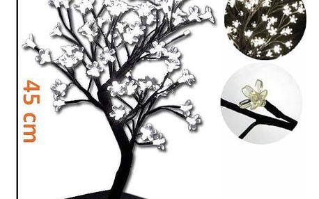 Nexos 1997 Dekorativní LED osvětlení - strom s květy, studeně bílé