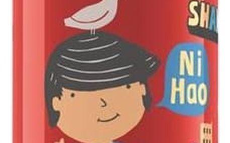 Láhev na pití Sigg dětská Travel Boy Shanghai, 0.4L červená