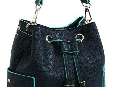 Modrá kabelka Doca