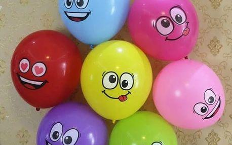 Veselé nafukovací balonky 10 ks