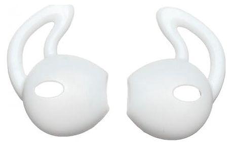 Silikonové krytky na Apple sluchátka - bílá barva