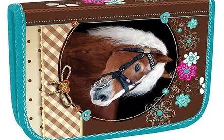 Penál školní Stil jednopatrový Sweet Horse