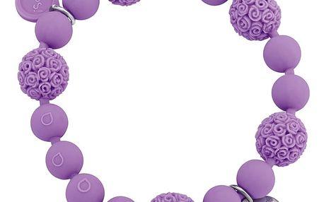 Ops! Objects náramek Boule fialový