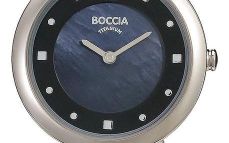 Boccia Titanium 3242-02 + pojištění hodinek, doprava ZDARMA, záruka 3 roky