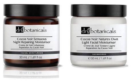 Set krémů Dr. Botanicals Coco Noir Sensuous Night Repairing a Coco Noir Natures Own Light - doprava zdarma!