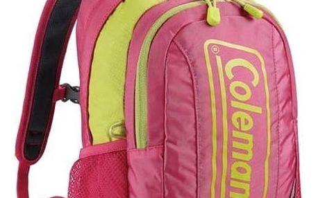 Batoh dětský Coleman Bloom 8L růžový + Taška přes rameno Coleman ZOOM - (1L, černá), 12 x 15 x 8,5 cm, 160 g, vhodná na doklady, mobil, klíče v hodnotě 259 Kč