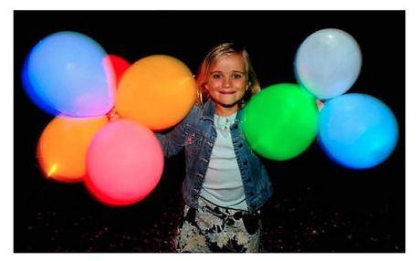 Svítící nafukovací balónek měnící barvy