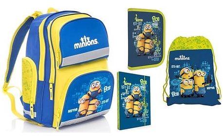 Školní set P + P Karton MINIONS + Doprava zdarma