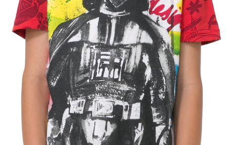 Desigual barevné chlapecké tričko Dark