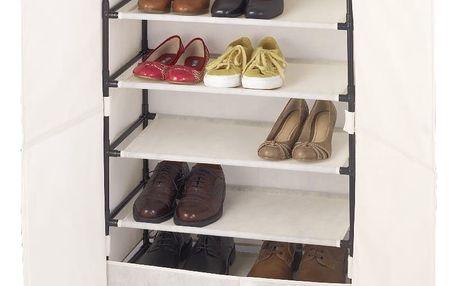 Textilní botník na 15 párů bot Wenko Butterfly
