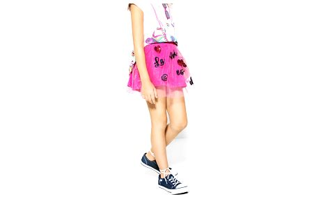 Desigual růžová dívčí sukně Puigdalber