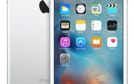 Mobilní telefon Apple Plus 128GB - Silver (MKUE2CN/A) stříbrný