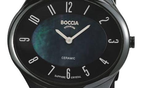 Boccia Titanium 3216-02 + pojištění hodinek, doprava ZDARMA, záruka 3 roky