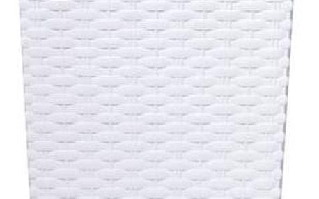 Květináč Prosperplast Rato square 32,5 x 32,5 x 61 cm (DRTS325-S449) bílý + Doprava zdarma