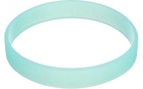 Svítící gumový náramek - různé barvy