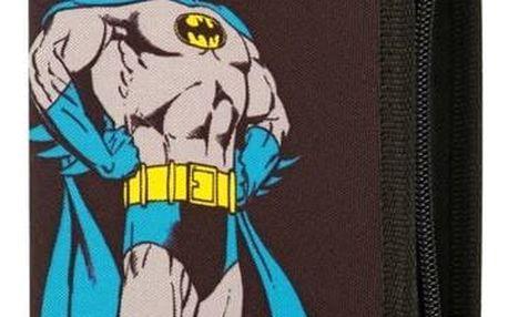 Penál školní Baagl jednopatrový Batman Superhero