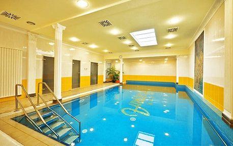 3 až 5denní lázeňský pobyt pro 1 či 2 osoby v Astoria Hotel & Medical Spa*** ve Varech