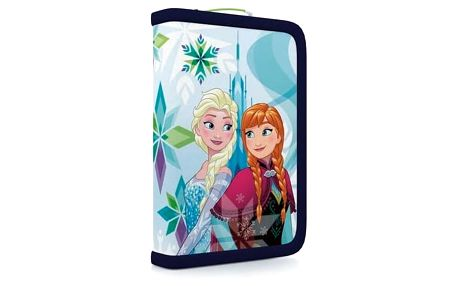 Penál školní P + P Karton jednopatrový plněný Frozen