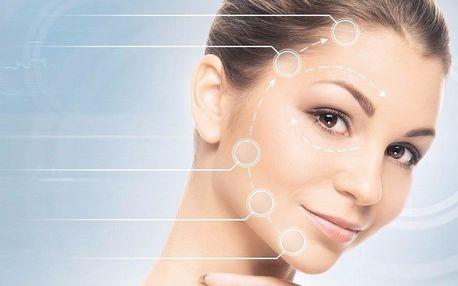 Ultrazvukové ošetření pleti, masáž obličeje a maska