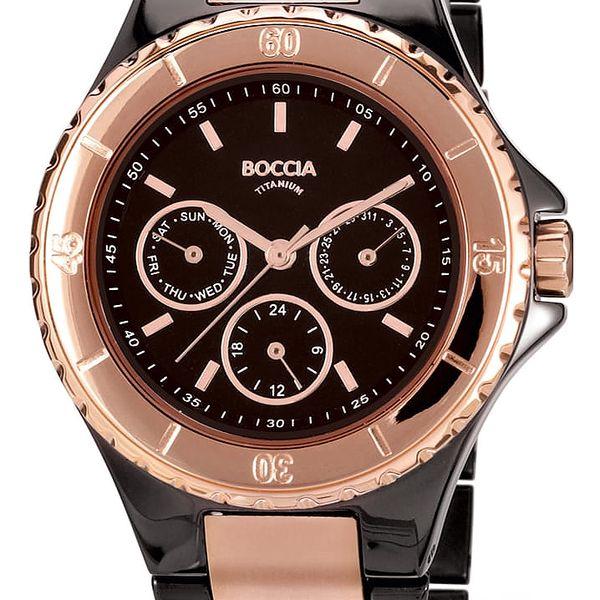 Boccia Titanium 3760-02 + pojištění hodinek, doprava ZDARMA, záruka 3 roky
