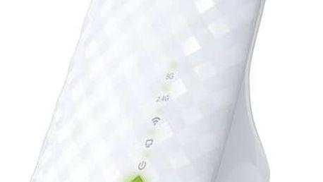 WiFi extender TP-Link RE200 AC750 (RE200) bílý