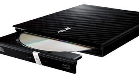 Asus SDRW-08D2S-U černá, externí DVD vypalovačka, USB, software