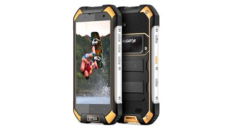 Mobilní telefon Aligator RX550 eXtremo Dual SIM (ARX550BY) černý/žlutý