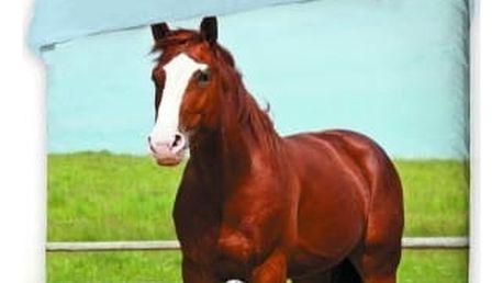 Jerry Fabrics Dětské povlečení Kůň 2016 140x200 70x90