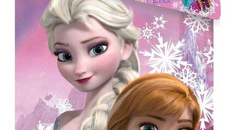 Jerry Fabrics Dětské bavlněné povlečení Ledové království Frozen duo sister, 140 x 200 cm, 70 x 90 cm