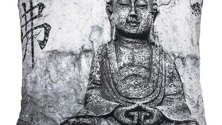 BO-MA Trading Povlak na polštářek Buddha, 45 x 45 cm