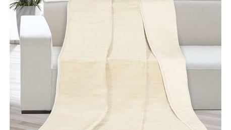 Bellatex Přehoz Kira béžová/světle béžová, 200 x 230 cm, 200 x 230 cm