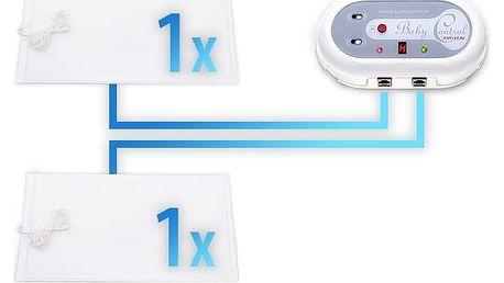 Monitor dechu Baby Control Digital BC 220i pro dvojčata