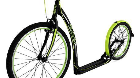 Koloběžka WILCOX Tourer - černo-zelená
