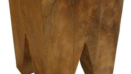 Stolička z teakového dřeva HSM Collection Too - doprava zdarma!