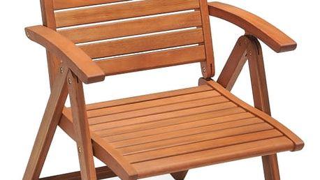Marimex Křeslo zahradní polohovatelné - dřevo - 11640220