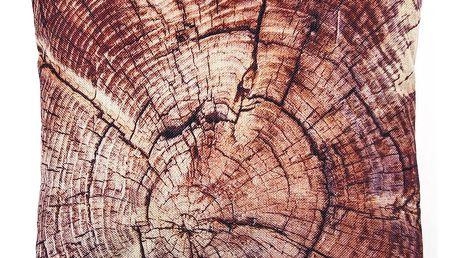 Jahu Povlak na polštářek Wood, 45 x 45 cm