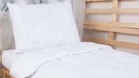 Set - prošívaný polštář a deka