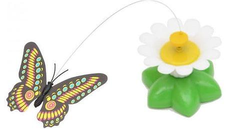 Vtipná hračka pro kočky na baterky - motýlek - dodání do 2 dnů