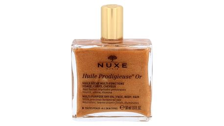 NUXE Huile Prodigieuse Or Multi Purpose Dry Oil Face, Body, Hair 50 ml tělový olej pro ženy