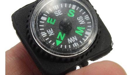 Mini přídavný kompas na paracord
