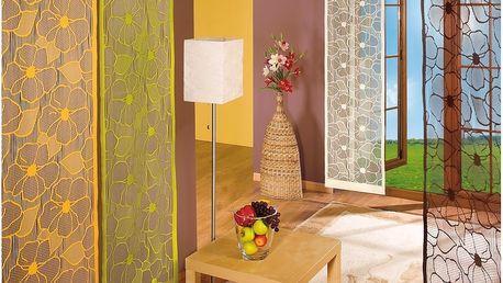Forbyt Japonská stěna Vera hnědá, 50 x 240 cm