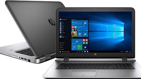HP ProBook 470 G3, černá - W4P22ES